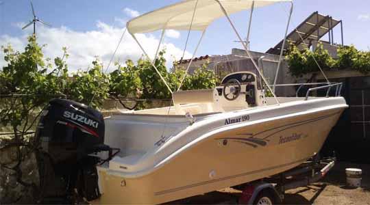 Barco Aventura - Tu Barco en Menorca - todo